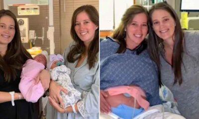 İkiz kardeşler doğum günlerinde 90 dakika arayla anne oldu