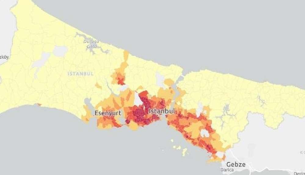 İstanbul'un koronavirüs kırılganlık haritasında metronun olduğu mahallelerde risk yüksek çıktı