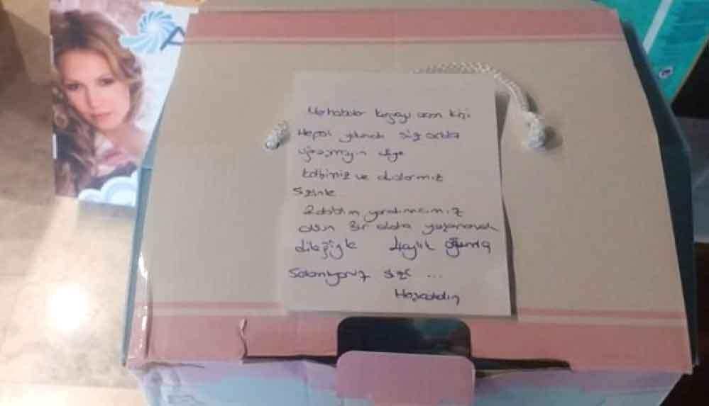 İzmir'e giden yardım kolisindeki not duygulandırdı