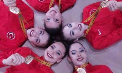 Kadın Ritmik Cimnastik Grup Milli Takımı, Avrupa şampiyonu oldu