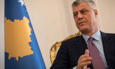 Kosova Cumhurbaşkanı Thaçi istifa etti