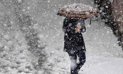 Meteoroloji saat verdi: Kar geliyor!