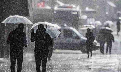 Meteoroloji İstanbul için sağanak yağış uyarısı verdi