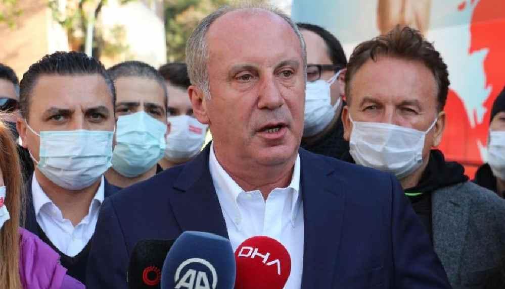 """Muharrem İnce'den """"yeni anayasa taslağı"""" açıklaması"""