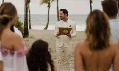 Nişanlısı tarafından terk edilen adam kendisiyle evlendi