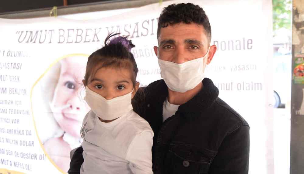 SMA hastası 'Umut' bebek için kermes
