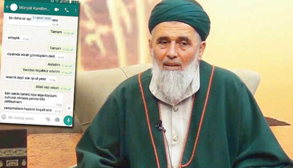 Çocuk istismarından tutuklanan Uşşaki şeyhi Fatih Nurullah'ın skandal mesajları ortaya çıktı
