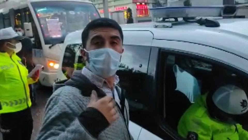 Fazla yolcu alan minibüs şoförü: Ben almadım onlar bindi