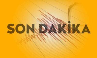 Son Dakika... Muğla'da deprem!