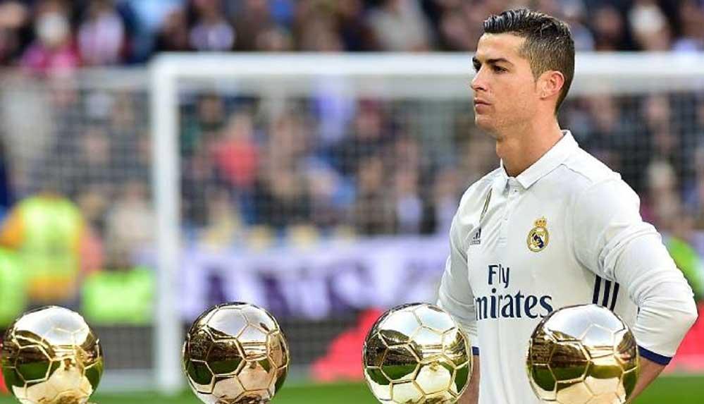21. yüzyılın en iyisi Cristiano Ronaldo