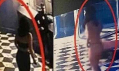 Aldatıldığını öğrenen kadın otel lobisinde çırılçıplak soyundu