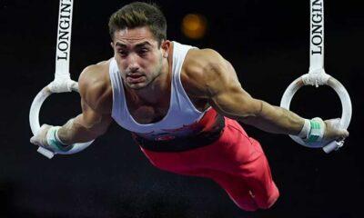Avrupa Erkekler Artistik Cimnastik Şampiyonası'nın altın halkası İbrahim Çolak