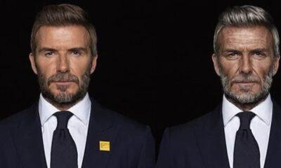 Beckham 'yaşlandı'