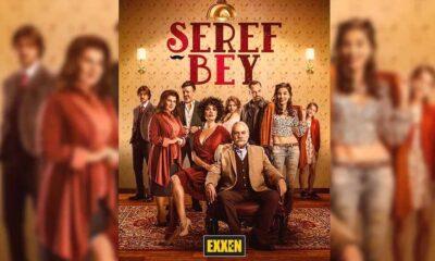 Exxen'in ilk dizisi 'Şeref Bey'in posteri yayınlandı
