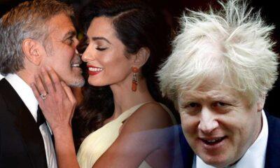 Clooney, evliliğini kendisini Hitler'e benzeten Boris Johnson'a borçlu olduğunu söyledi