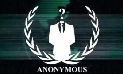 Hacker grubu Anonymous'tan Erdoğan'a mesaj: İç ettiğiniz yüz milyarlarca doları anlat