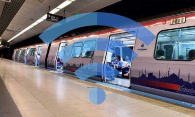 İBB'den metroda internet müjdesi