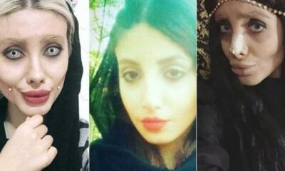 Kendini Angelina Jolie'ye benzeten İranlı 'Zombi Gelin'e 10 yıl hapis cezası