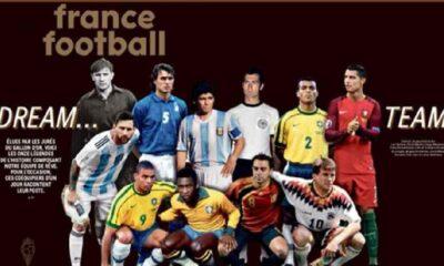 İşte futbol tarihinin en iyi 11'i