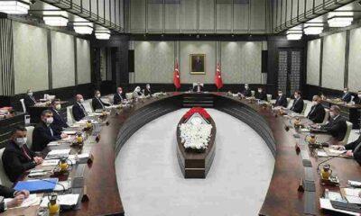Kabine toplanıyor: Erdoğan sokağa çıkma yasağı ve restoranlarla ilgili açıklama yapacak