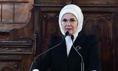 Cumhurbaşkanı'ndan sonra eşi Emine Erdoğan'ın da ilk kitabı satışa çıkıyor