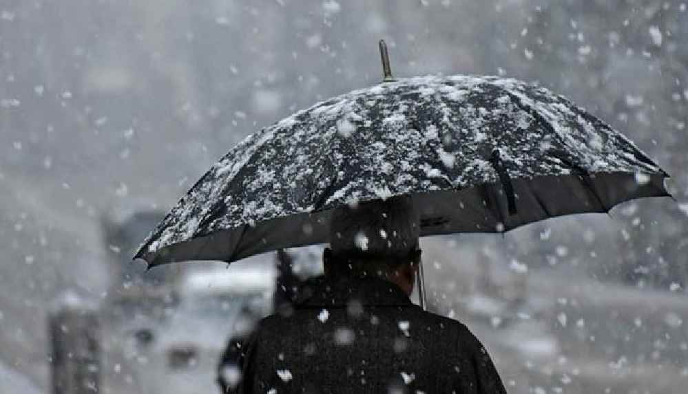 Marmara Bölgesi için 'yoğun kar' uyarısı