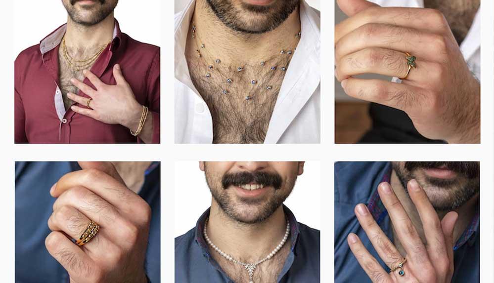 Mücevherlerini erkek modelle tanıtan Çınar Kuyumculuk: Gurur kaynağımız
