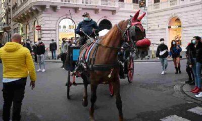 Roma'da atlı faytonların kent içinde kullanımı yasaklandı