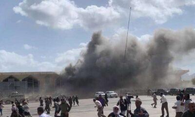 SON DAKİKA... Yemen'de kabine üyelerinin indiği havalimanında patlama