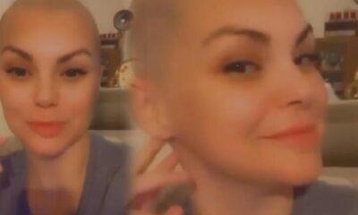 Şarkıcı Nez saçlarını kazıttı