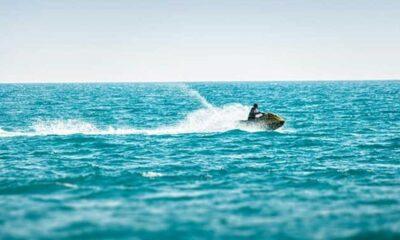 Sevgilisi için jet skiyle İskoçya'dan Man Adası'na giden adama 'corona' cezası