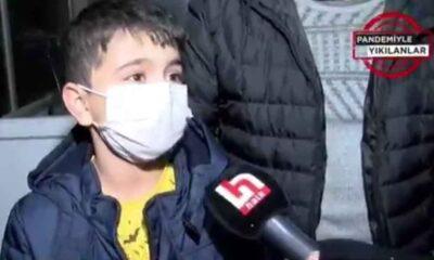 """Tezgahına el konulan 9 yaşındaki çocuk: Boğazımı sıkıp """"Devleti de zabıtayı da tanıyacaksın"""" dediler"""