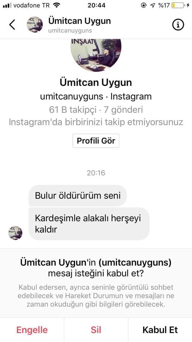 Ümitcan Uygun'un ağabeyinden Müge Anlı'ya tehdit: 'Aleyna'nın ölümünü sen de tadacaksın'