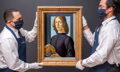 550 yıllık Botticelli eseri 92 milyon dolara satıldı