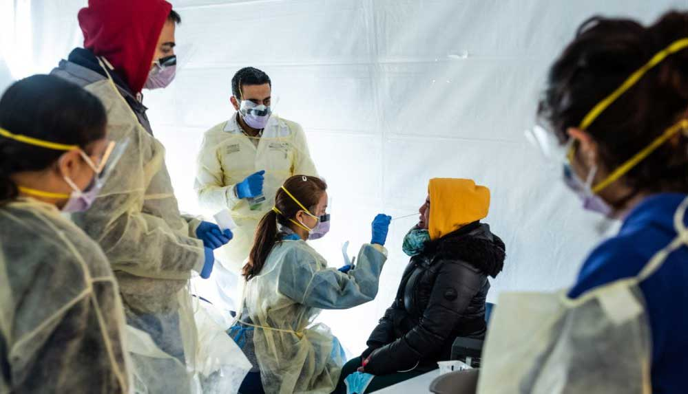 ABD'de Kovid-19'dan ölümlerin ocak sonuna kadar 438 bine çıkabileceği tahmin ediliyor