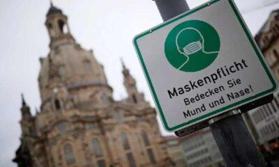 Almanya'da maske takmayana 25 bin euro ceza