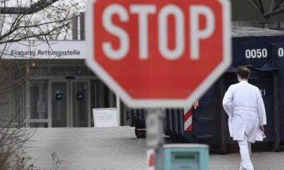 Almanya'da mutasyonlu virüse rastlanan hastane karantinaya alındı