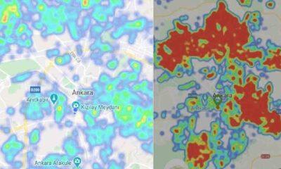 Ankara'da HES haritası yeşile büründü