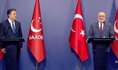 Babacan ve Karamollaoğlu'ndan ittifak tartışmalarına ortak basın açıklaması