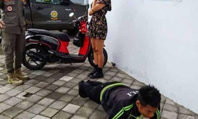 Bali'de maske takmayan turistlere 'şınav çekme' cezası