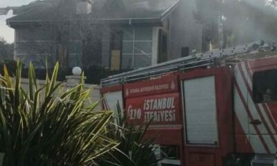 Binali Yıldırım'ın evinde yangın çıktı