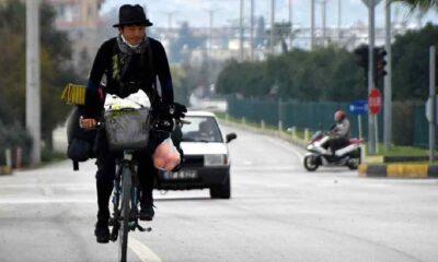 Bisikletiyle 13 ülke gezen Japon fotoğrafçı Antalya'da: Türk insanı sıcakkanlı ve misafirperver, tekrar geleceğim