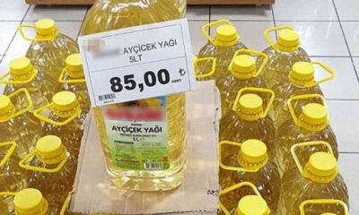 Bitkisel Yağ Sanayicileri Derneği Başkanı: Marketlerde ayçiçeği yağı 75 lira değil 59 lira bir kere