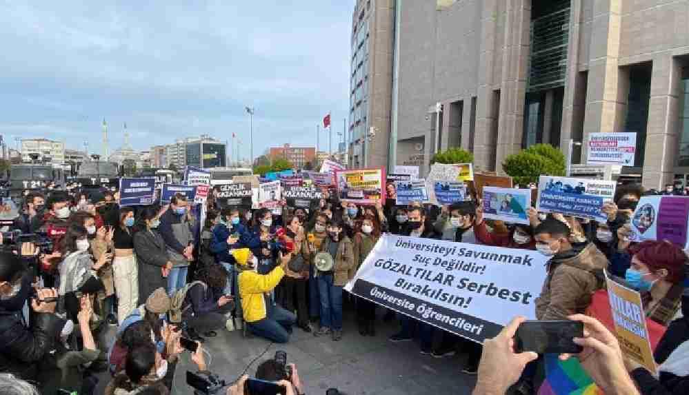 Boğaziçi protestolarında iki öğrenci hakkında tutuklama istemi