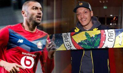 Burak Yılmaz'dan Mesut Özil'e gönderme