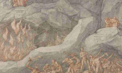 Dante'nin ölümünün 700. yıl dönümünde çevrimiçi sergi düzenliyor