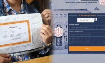E-okul'da karne notu nasıl görüntülenir?