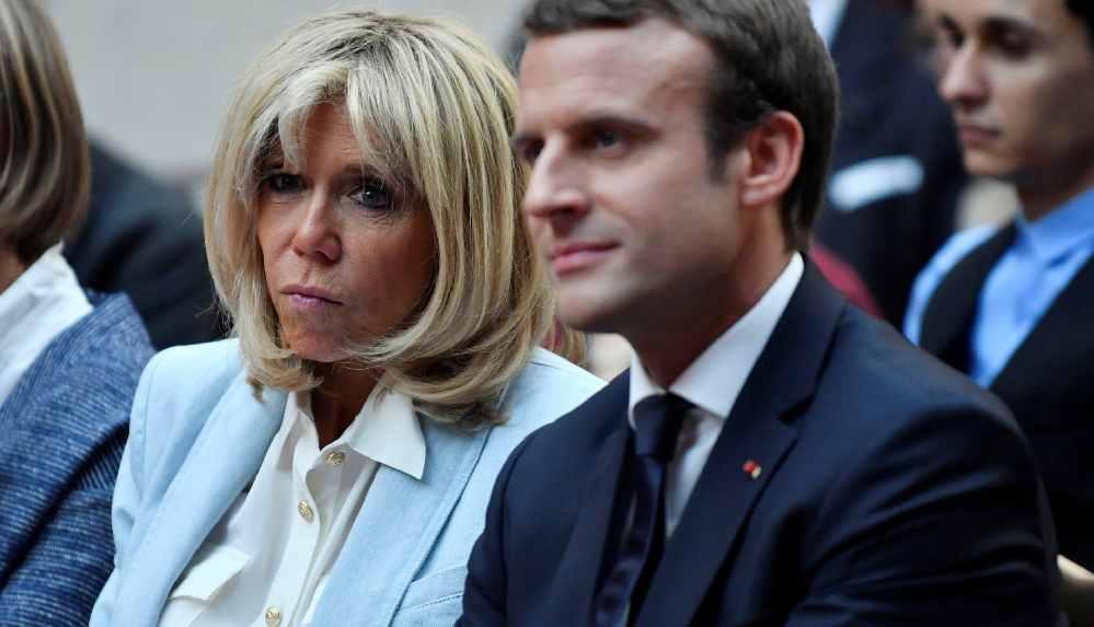 Emmanuel ve Brigitte Macron'un çiçek bütçesi Fransa'yı karıştırdı