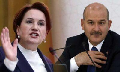 Akşener, Süleyman Soylu'yu göreve çağırdı