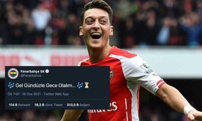 Fenerbahçe'nin yeni transferi Mesut Özil'in geliş saati belli oldu